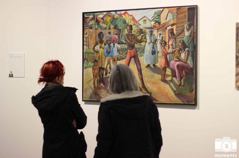 Kunst expositie Blend