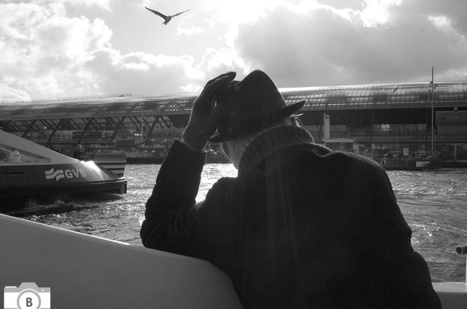 Op het pontje van Amsterdam Noord