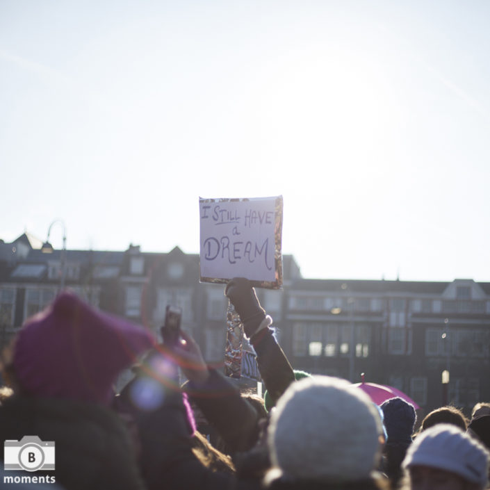 womens march amsterdam, demonstratie, evenement, fotografie, bmoments, amsterdam