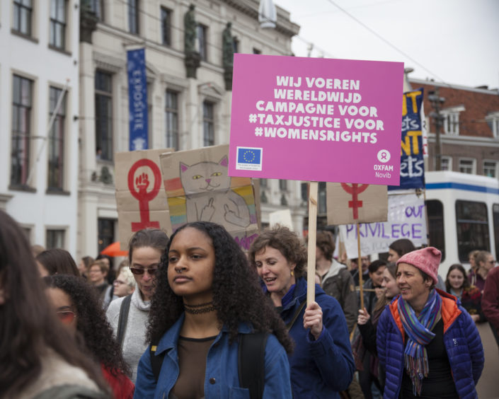 womens march amsterdam, maart 2017, evenementenfotografie, oxfam novib, bmoments