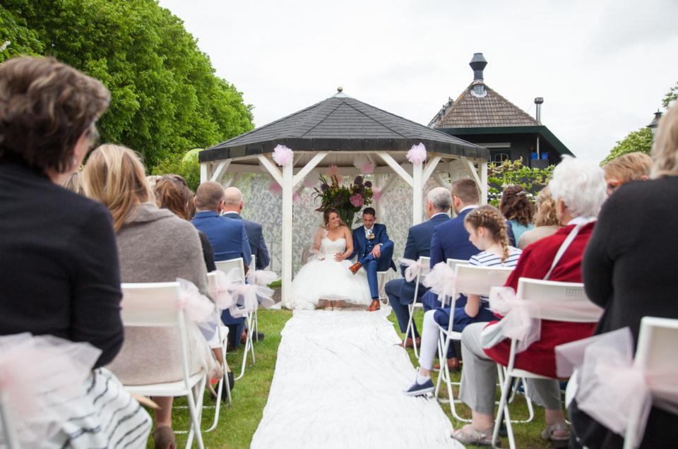 Bruiloft in Groet
