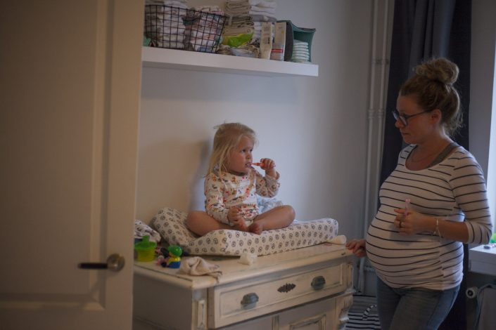familie fotoshoot, zwangerschap, haarlem