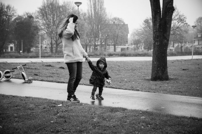familie fotoshoot, park, amsterdam noord