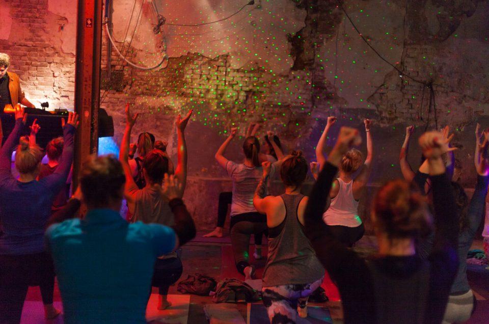 Deephouse Yoga evenementen fotografie