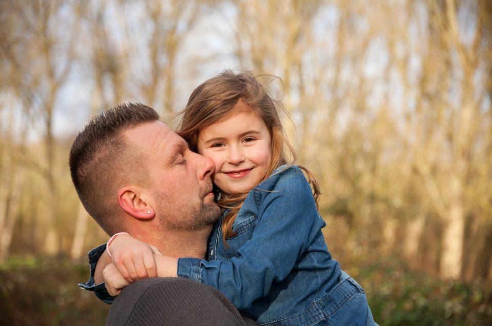 Familie fotoshoot in Spaarnwoude