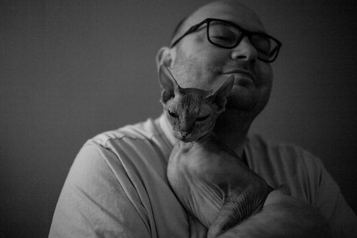 katten fotoshoot thuis, bmoments