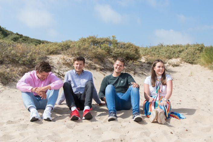 fotoshoot, familie, tieners