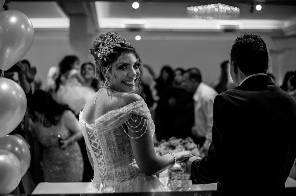 Gezellige Arabische bruiloft