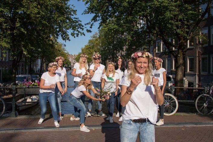 vriendinnen fotoshoot amsterdam