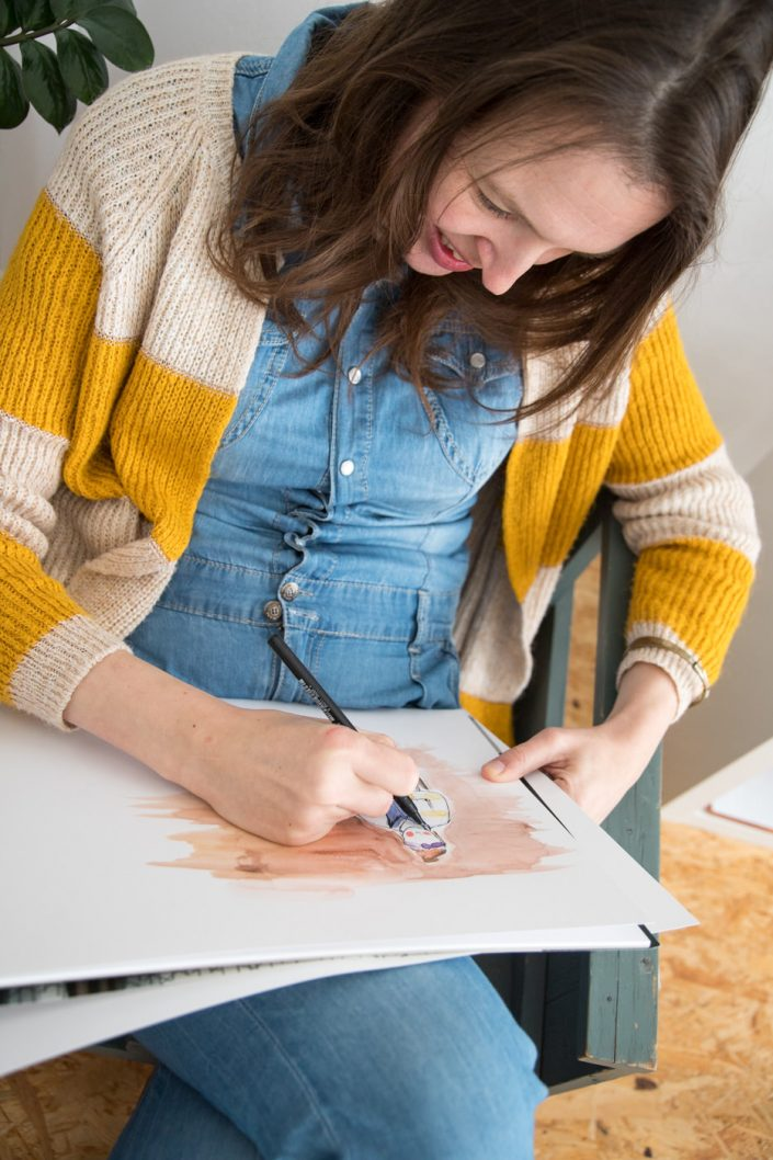 ondernemer foto illustrator