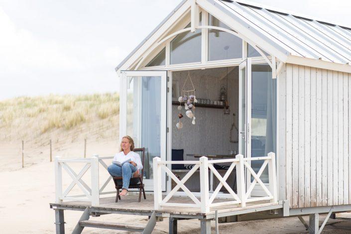 zakelijke foto's, strand, haagse strandhuisjes