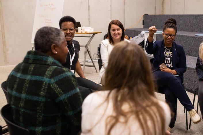 Congres fotografie, women in tech, amsterdam