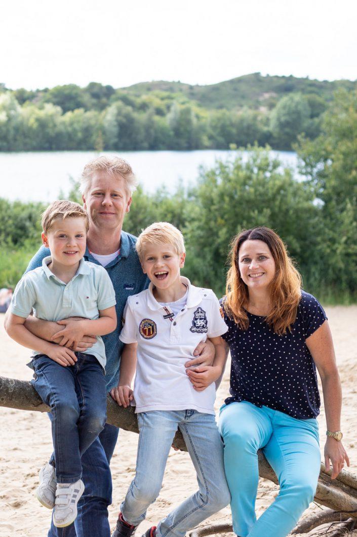 gezin fotoshoot kennemerduinen