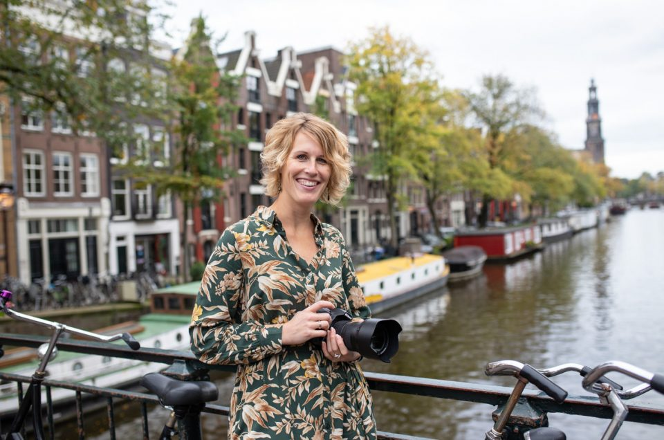 Portretten aan de Amsterdamse grachten