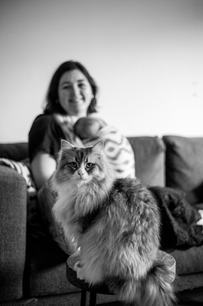 portret, moeder, amsterdam